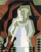 Juan Gris Clown oil painting reproduction